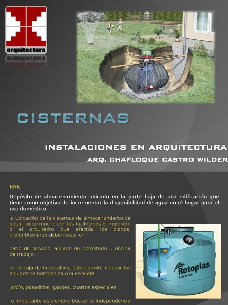 Cisterna for Cisternas de agua a domicilio