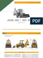 1108-FE002 Folheto Técnico Retroescavadeira 3C-3CPlus