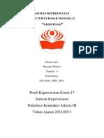 Askep Kdm Print Oksigenasi