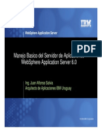 Manejo Basico Del Servidor de Aplicaciones WebSphere Application Server 6.0