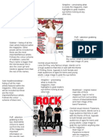 Magazine Analysis (Paramore and Lana Del Rey)