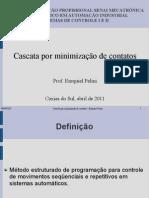 Apresentação_Cascata por minimização de contatos