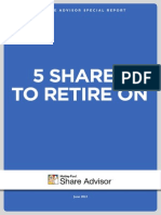 5 Shares To Retire On