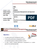 PMA_Unit 2_Practices in Performance Management System_PPT_Final
