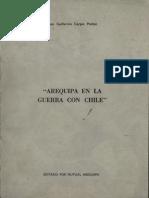 Arequipa en La Guerra Con Chile