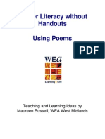 Literacy Without Handouts- Using Poems