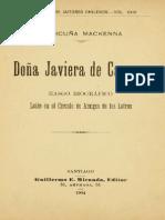 Javiera Carrera, biográfia