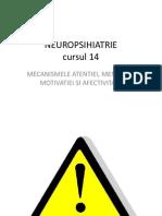 NEUROPSIHIATRIE 14