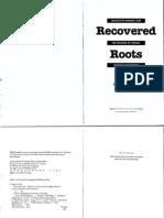 Zerubavel Yael - Recovered Roots