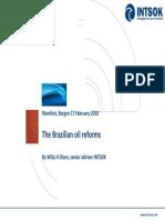 Brazilian Oil Reform