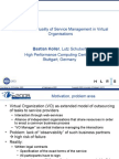 eChallenges SLA Management