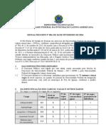Edital PROGEPE 054 2014 - Abertura concurso PCCTAE N Méd (1)