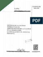 Sistema de La Calidad - IsO9000