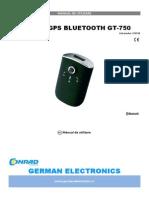 Logger Gps Bluetooth Gt-750