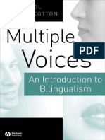 A Myers Scotton Carol Multiple Voices an Introduction to Bilin