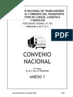 Convenio de Sindicato de Camioneros