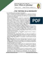 PLAN LECTOR HISTORIA DE LA GEOGRAFÍA