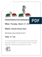 Cheviot School H F Flier 03-27-14
