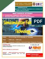 SEMICONDUCTOR FABRICATION TECHNOLOGY