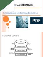 1.- Sistemas Operativos Introducción UDLA