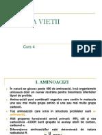 Curs 10 - CHIMIA VIETII - Proteine + Lipide