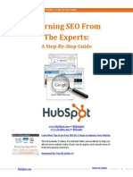 Learning SEO From the Expert Hubspot