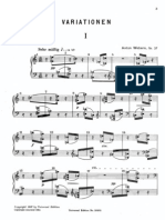 Anton Webern - Variations Op. 27