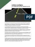 Primera carretera ecológica