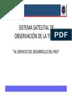 FACH_ Sistema satelital de observación de la tierra