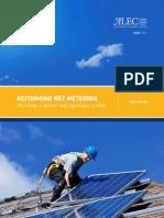 Net Metering Reform