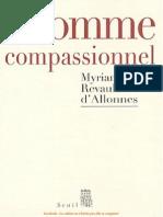 L'homme compassionnel - Myriam Revault-d'Allonnes.pdf
