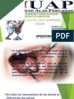 Expocision de Instrumental Para Operatoria Dental