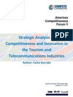 Competitiveness and Innovation in Tourism and Telecom