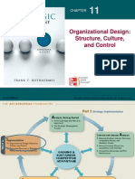 Strategic Management Organizational design