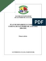 Plan de Desarrollo Comunal 2006-2010
