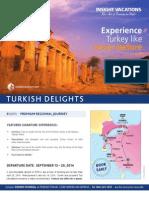 Perkins Travel Turkey September 13-20, 2014