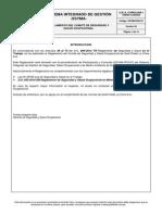 SSYMA-R03.07 Reglamento Del Comite de Seguridad y Salud Ocupacional