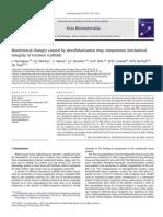 Cambios Bioquimicos Causados Por Descelularizacion Que Compromete La Integridad Mecanica de Andamios de Traqueas Partington Et Al 2013