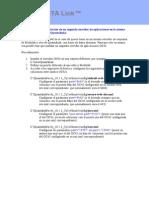 Procedimiento de instalación de un segundo servidor de aplicaciones en la misma máquina