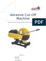 Cut-Off Machine Report
