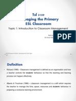 Tsl 3109 Presentation 1 Group 1