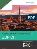 Opal Esque 2014 Zurich Roundtable