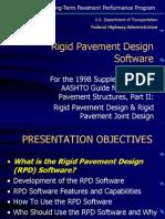 Rigid Pavement design software