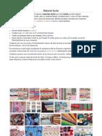 Referat Materiale Textile