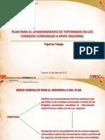 Plan Para El Levantamiento de Toponimos a Nivel Nacional Fundacomunal Final