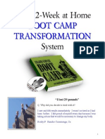 12 Week Boot Camp Transformation System