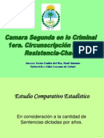 Dr Del Rio Victor Emilio Presentacion Powerpoint Estadisticas Camara Segunda Criminal Resistencia