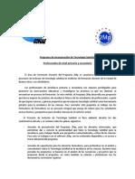 CONAE_Programa de Incorporación de Tecnología Satelital en IFD 2014