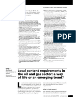 Local Content a Way of Life IBA Oil and Gas Law Practice ...n (Oct 2010) (Vol 1 No 1)