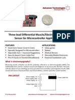 Muscle Sensor v3 Users Manual